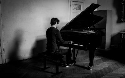 Alles is perfect volgens pianist Noah Vanden Abeele